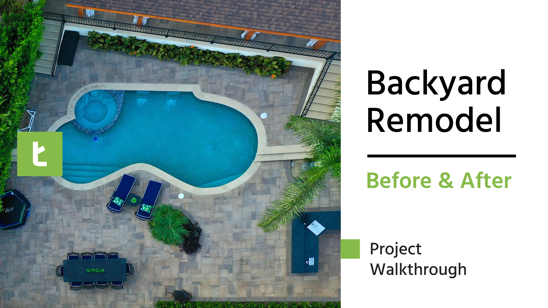 Before & After Backyard Remodel Project Walkthrough